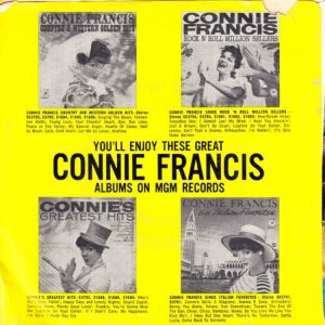 FRANCIS CONNIE 1960 01 B