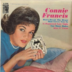 FRANCIS CONNIE 1962 02 A