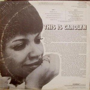 FRANKLIN CAROLYN 1969 B