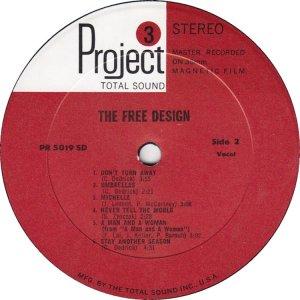 FREE DESIGN 1968 D