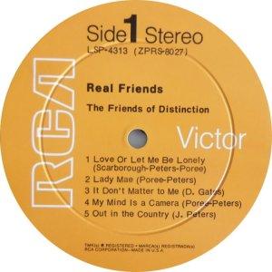 FRIENDS OF DISTINCTION 1970 C