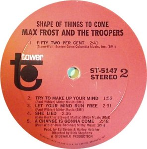 FROST MAX STORM TROOPERS 1968 C