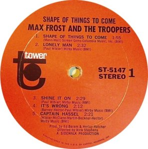 FROST MAX STORM TROOPERS 1968 D