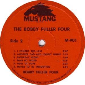 FULLER FOUR BOBBY 1965 D