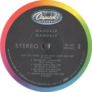 GANDALF 1969 D