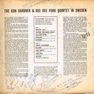 GARDNER FORD 1965 B