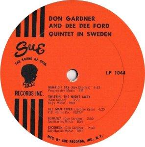 GARDNER FORD 1965 C