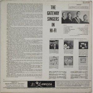 GATEWAY SINGERS 1958 B