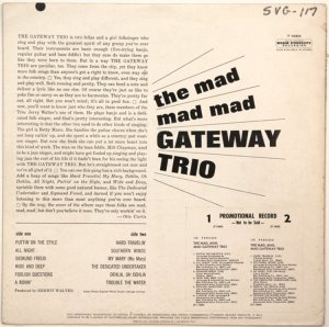 GATEWAY TRIO 1963 B