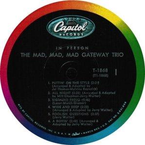 GATEWAY TRIO 1963 C