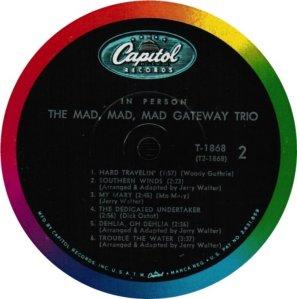 GATEWAY TRIO 1963 D