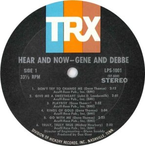 GENE & DEBBIE 1968 C