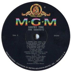 GENTRYS 1966 E