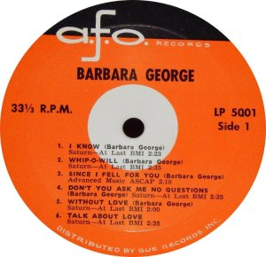 GEORGE BARBARA 1961 C