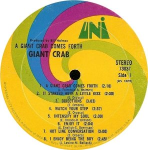 GIANT CRAB 1968 B