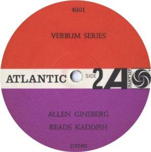 GINSBERG ALLEN 1966 D