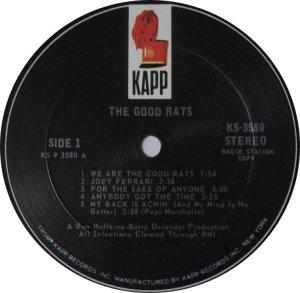GOOD RATS 1969 B