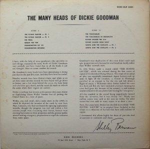 GOODMAN DICKIE 1962 B
