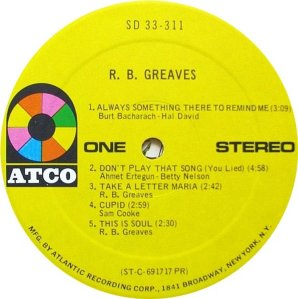 GREAVES RB 1969 C