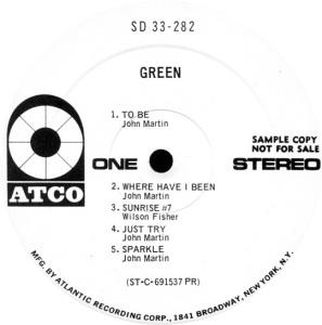 GREEN 1969 B