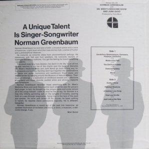 GREENBAUM NORMAN 1968 B