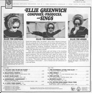 GREENWICH ELLIE 1967 B