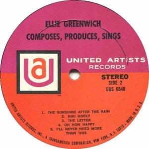 GREENWICH ELLIE 1967 D