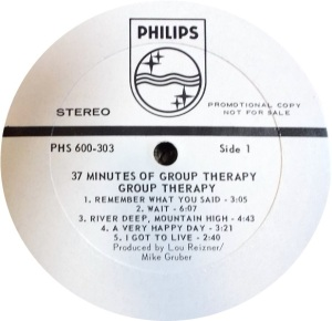 GROUP THERAPY 1969 C