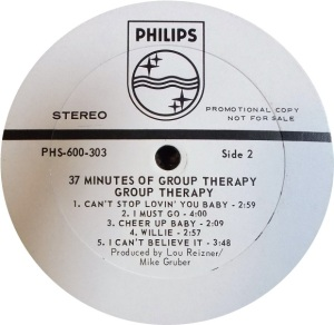GROUP THERAPY 1969 D