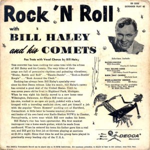 HALEY COMETS 1956 01 B