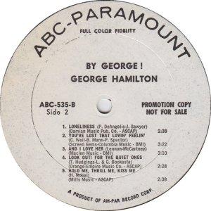 HAMILTON GEORGE 1965 D