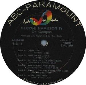 HAMILTON IV GEORGE - 1957 D