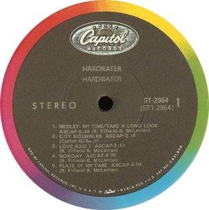 HARDWATER 1968 C