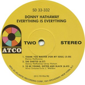 HATHAWAY DONNY 1970 D