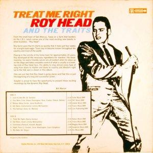 HEAD ROY 1965 B