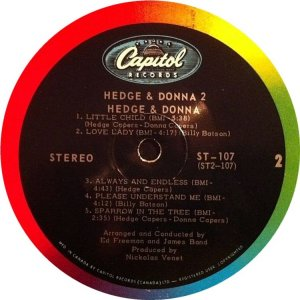 HEDGE AND DONNA 1968 D