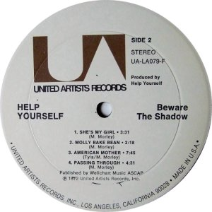 HELP YOURSELF 1972 D