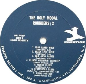 HOLY MODAL ROUNDERS 1965 C