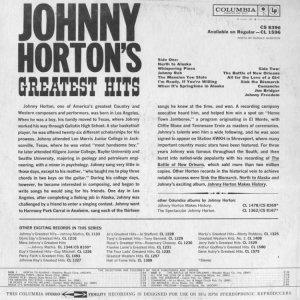HORTON JOHNNY 1961 B