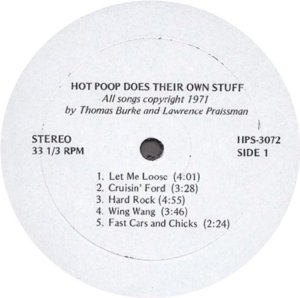 HOT POOP 1971 C