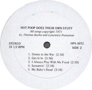 HOT POOP 1971 D
