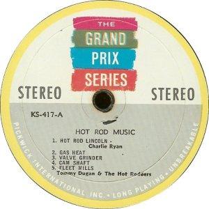 HOT RODDERS 1963 B