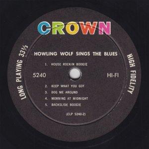 HOWLIN WOLF 1962 D
