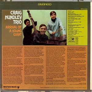 HUNDLEY TRIO CRAIG 1968 B