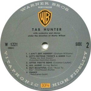 HUNTER TAB 1958 D