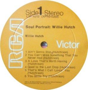HUTCH WILLIE 1969 C