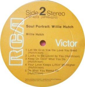 HUTCH WILLIE 1969 D