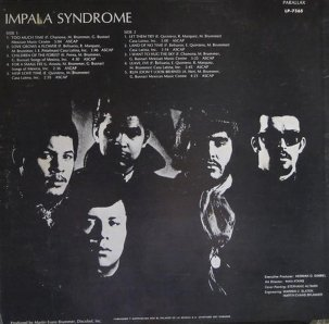 IMPALA SYNDROME 1969 B