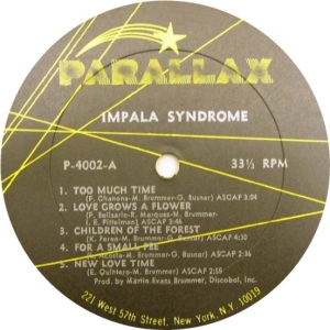 IMPALA SYNDROME 1969 C