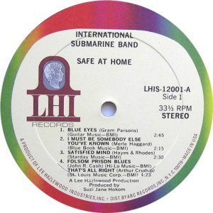 INT SUBMARINE BAND 1968 C